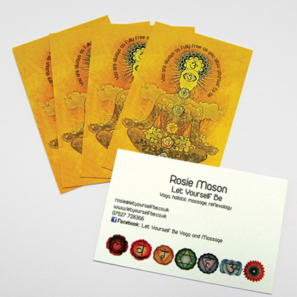 Litho Business Cards